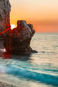 Milos beach Greece