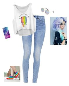 """Puking Rainbows"" by hanakdudley ❤ liked on Polyvore featuring G-Star, Full Tilt, women's clothing, women's fashion, women, female, woman, misses and juniors"