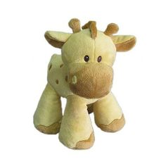 Babies R Us Plush 9 inch Standing Giraffe (846344032020) 100% polyester Spot clean with a moist cloth. Guaranteed to bring a smile to your child's face.