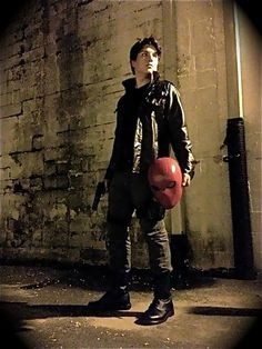Character: Jason Todd/ Red Hood cosplayer: Brendon Killean taken by my girlfriend Taylor Ebinger Submitted bynightwingsblog
