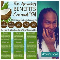 Did you know you could use coconut oil as a natural facial scrub moisturizer and clenser? Combind that with a tsp of baking soda and you have your own homemade facial scrub. #coconutoil #waterdiet #oilpulling #healthyskin #skincare Follow my skincare journey!