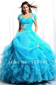 If I were Hispanic, this would have been my quinceanera dress :)