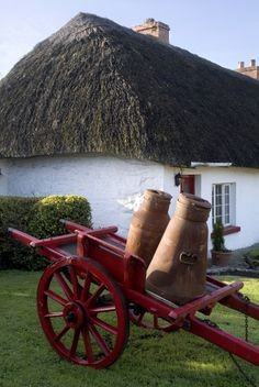 The village of Adare has come a long way since 1200 AD, and is a great place to see medieval architecture's evolution.