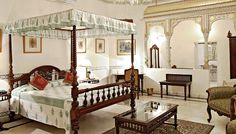 Dreamlike Royal Room at the Alsisar Haveli #Picture #Gallery #Jaipur,Heritage Hotel Accommodation Rajsthan,India