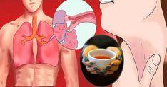 Thumb Beba esse chá de 3 ingredientes para limpar seus pulmões de muco, toxinas e inflamação