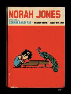 Norah Jones indie-music-posters