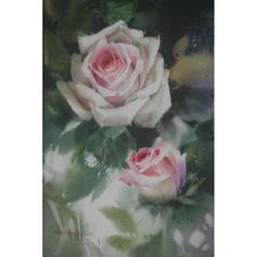 Rose, Watercolour on Paper, 40.9 x 27.3cm | Watercolor Painting