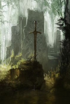 glawarhal:  The Legendary Blades by ourlak