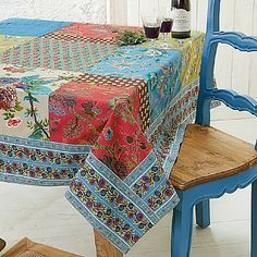 patchwork tablecloth - Google'da Ara