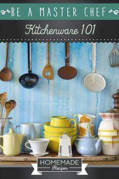Be A Master Chef: Kitchenware 101 by Homemade Recipes at http://homemaderecipes.com/cooking-101/how-to-be-a-master-chef-in-10-days-purchase-the-necessities/