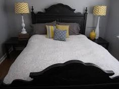 Image result for yellow and gray bedroom walls