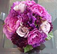 Purple Hydrangea Bouquet | Xstream - Auto Cleaning and Lawn Care Services