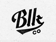 Blk Co. Logo Update by David M. Smith