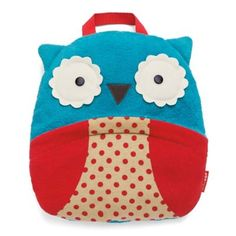 SKIP*HOP® Zoo Owl Travel Blanket in Blue/Red - buybuyBaby.com