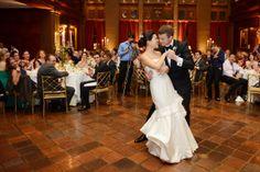 Nice Wide Angle Shot of the Bride and Groom #wedding #photography