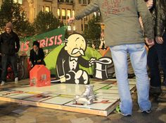 Banksy Artwork for Occupy London Movement • Highsnobiety