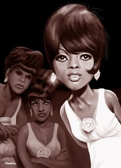 The Supremes were an American female singing group and the premier act of Motown Records during the 1960s. Founded as the Primettes in Detroit, Michigan, in 1959. America's most successful vocal group with 12 number one singles on the Billboard Hot 100.  The Supremes rivaled the Beatles in worldwide popularity, and their success made it possible for future African American R&B and soul musicians to find mainstream success.