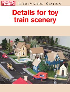 Details for Toy Train Scenery