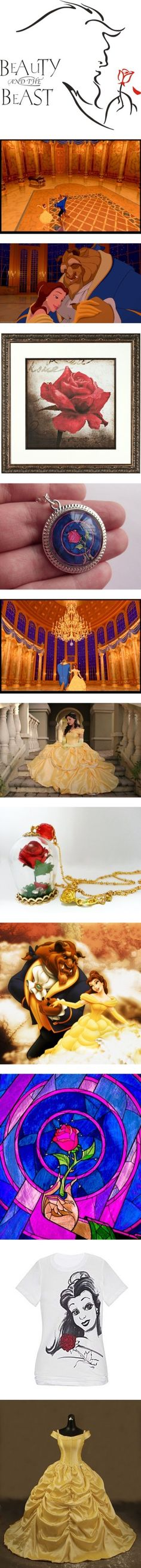 """""""tale as old as time beauty and the beast"""" by beautyandthetardis ❤ liked on Polyvore"""
