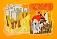 Mary Blair visual development for Sleeping Beauty