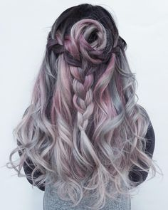 """Muted Rose. Braid by @lo.reeeann"""