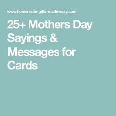 8 Best Mother's Day saying images in 2014 | Happy mothers day images