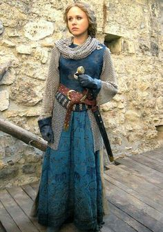 Medieval Woman fighter