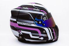 Racing Helmets Garage: Stilo ST4W G.Guzman 2014 by Brett King Design