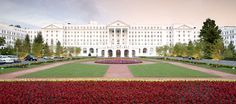 The Greenbrier in White Sulphur Springs, WV. Elegance in epic proportions.