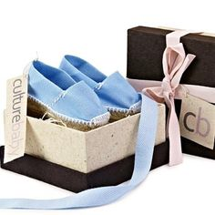 [culturebaby.com] Baby 'Spanish' Espadrilles, *Avalilable in Blue or Pink' - $25