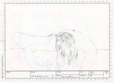 serie Tareas- grafito sobre papel
