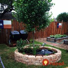 Build this simple, above ground pond ideas in a weekend. It features a fountain and a trellis. Backyard Water Feature, Ponds Backyard, Backyard Landscaping, Above Ground Pond, Raised Pond, Small Water Gardens, Goldfish Pond, Building A Pond, Turtle Pond