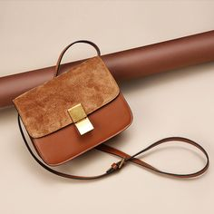 mini Vintage handbags women bags real leather brown handbag for ladies