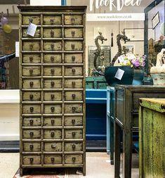 Antique 36 Drawer Medicine Cabinet. #nookdeco #thecliftonarcade #furniture #asianart #interiordesign #interiors #apocathery #medicinecabinet #restoredfurniture