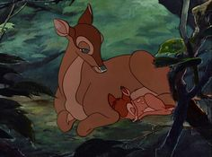 I will always be with you, even if you can't see me - Bambi's Mother