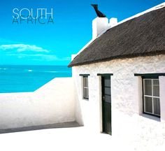 Arniston has so many memories, wow Costa Rica, Africa Day, Fishermans Cottage, South Afrika, Namibia, House By The Sea, Thatched Roof, Africa Travel, Cape Town