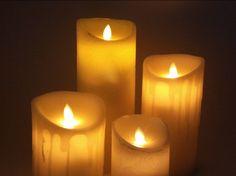 Bonitas velas de cera con luz led y Timer-temporizador. Con el timer-temporizador la vela se encenderá durante 6 horas y se apagará automáticamente durante 18 horas volviéndose a encender a la misma hora al día siguiente.  http://aralartdecoracion.com/decoracion-de-hogar  #AralartDecoracion #Aralart #Decoracion #Vela #Led #LuzLed #VelaLed #VelaDeCera #Temporizador #Candle
