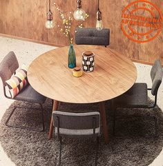 Deco Addict, Dining Room, Dining Table, Petites Tables, Designer, Sweet Home, New Homes, Loft, Furniture