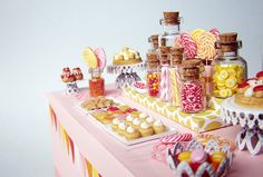 miniature dessert table!