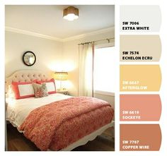 Coral. Paint colors from Chip It! by Sherwin-Williams