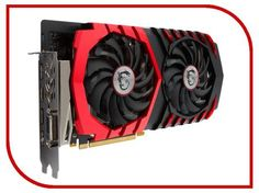 Видеокарта MSI GeForce GTX 1060 1594Mhz PCI-E 3.0 3072Mb 8108Mhz 192 bit DVI HDMI HDCP GTX 1060 GAMING X 3G  — 14329 руб. —