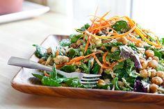Avocado Wasabi Salad, recipe here: http://veganyumyum.com/
