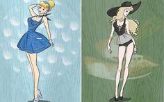 Designer cria looks para as princesas da Disney que vão inspirar seu próximo festival - Moda - CAPRICHO