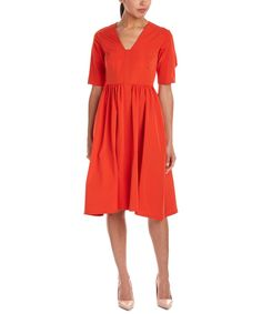 LELA ROSE LELA ROSE A-LINE DRESS'. #lelarose #cloth #day