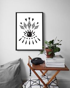 Fashion Eye Print Eye Poster Wall Decor Abstract by LovelyPosters