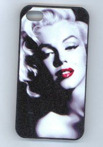 Wedding anniversary gifts: Marilyn Monroe Hard Case Skin for Iphone 4 4s Iphone4 At Sprint Verizon Retail Packing.