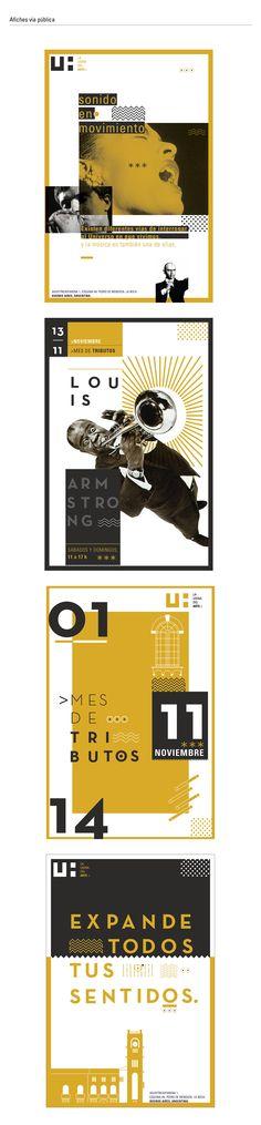 Imagen institucional de la Usina del arte, trabajo realizado para DG II Cátedra Gabriele, año 2014.PARTIDO CONCEPTUAL :La Usina del Arte como amplificador de los sentidos, a través de la fusión de de la música y la energía. El posicionamiento de la…
