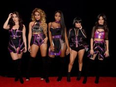 Fifth Harmony's Final Performance with Camila Cabello Aired on New Year's Eve! The final televised performance from Fifth Harmony featuring original group member Camila Cabello aired on Saturday night (December during the Dick Clark's… Wwe Outfits, Stage Outfits, Dance Outfits, Fifth Harmony Boss, Fifth Harmony Camren, Ally Brooke, Concert Dresses, Girl Bands, My Idol
