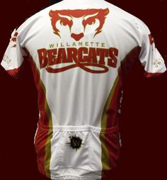 Willamette Bearcats Cycling Jersey, up to XXL, $79.95