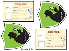 libro lupa, proyecto y actividades infantiles sobre detectives de Menuda Tribu Sherlock Holmes, Mystery Riddles, I Spy Games, Spy Party, Spy Kids, Pirate Theme, Escape Room, New Theme, Classroom Themes